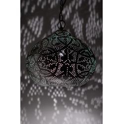 Oosterse filigrain lamp vintage zilver