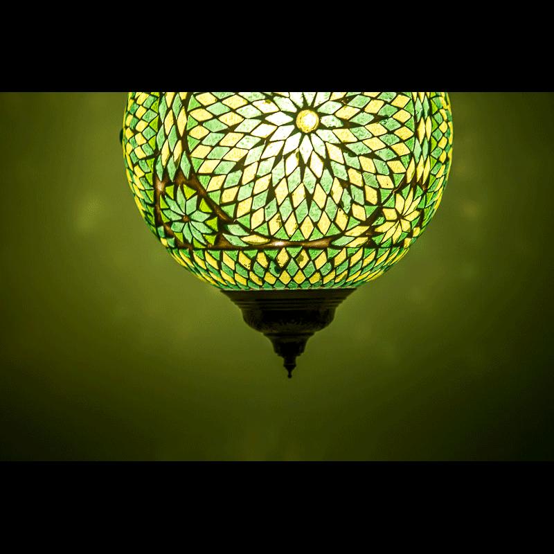 Oosterse hanglamp | mozaïek | Arabische lamp | Marokkaanse lampen