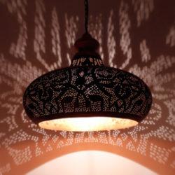 Oosterse filigrain lamp | Oosters interieur | Marokkaanse lamp