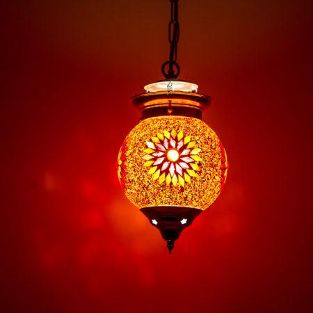 Oosters interieur met Oosterse mozaïek lampen Kalini