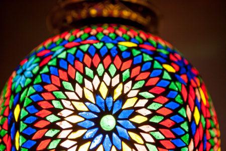 Oosterse mozaïek lampen Oosters interieur Marokkaanse lamp