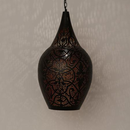 Filigrain lamp vintage koper Oosterse lampen Arabische sfeer Oosters interieur