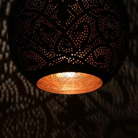 Oosterse filigrain hanglampen gaatjes lamp metaal lampen Arabische lampen
