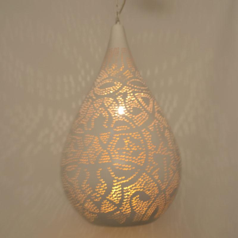 Oosterse filigrain lamp | Druppel | Arabische lampen | Oosters interieur