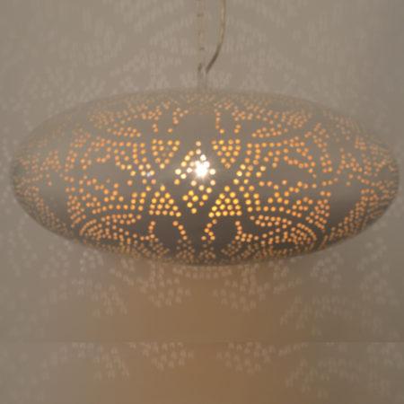 Oosterse filigrain lamp eettafel lampen Arabische verlichting Oosters interieur Amsterdam