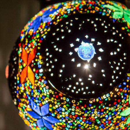 Oosterse lampen Marokkaanse hanglamp mozaïek Arabische sfeerverlichting