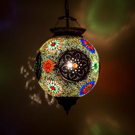 Oosterse hanglampen mozaïek filigrain lampen Oosterse inrichting