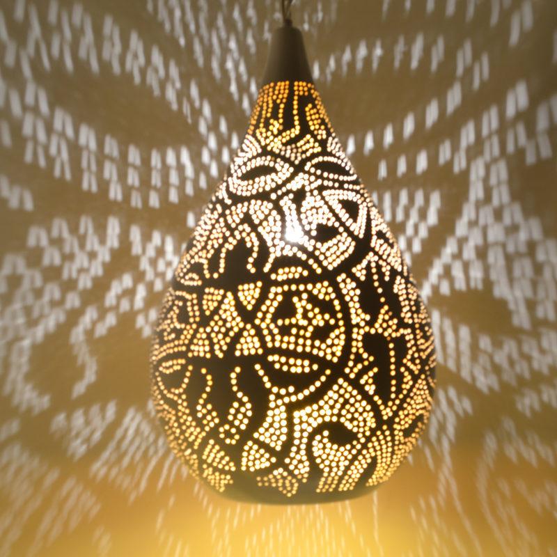 Oosterse hanglampen | Filigrain | Druppel | Marokkaanse lampen