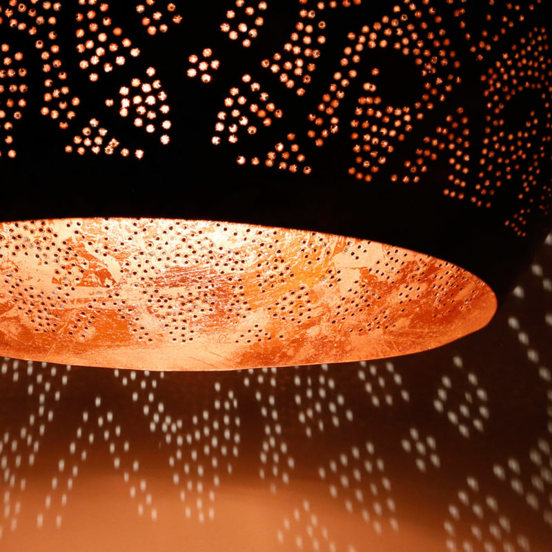 Oosterse lamp | Filigrain hanglamp | Marokkaanse lamp | Oosters interieur