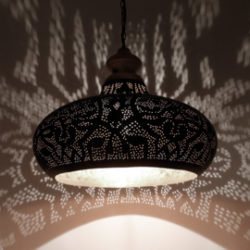 Oosterse hanglamp filigrain | Oosters interieur | Marokkaanse lampen