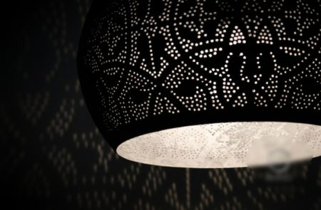 Oosterse hanglamp filigrain vintage zilver Oosters interieur Marokkaanse lampen