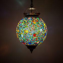 Oosterse lamp mozaïek Arabische lampen Marokkaanse verlichting Oosters interieur