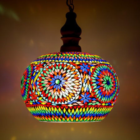 Oosterse lamp mozaïek hanglampen kleurrijke Outlet Amsterdam