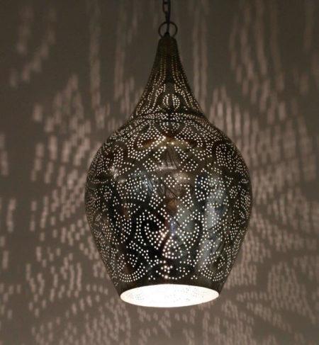 Oosterse lamp filigrain Arabische lampen Marokkaanse kasten Oosters interieur