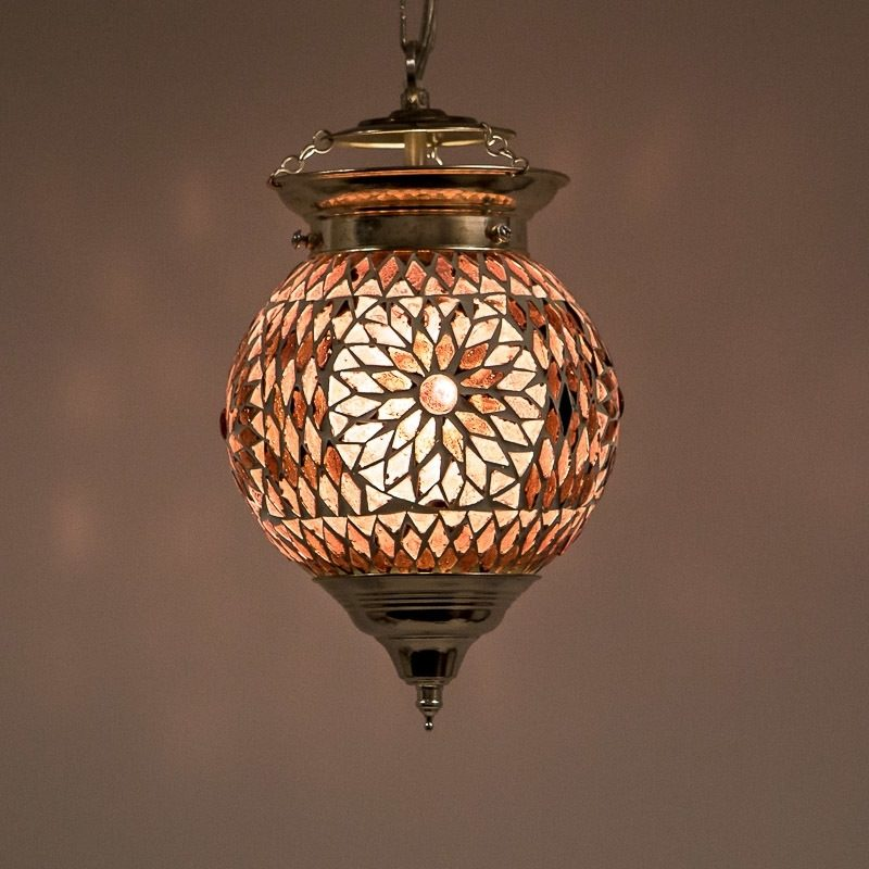 Mozaïek lamp paars Oosterse lampen Amsterdam