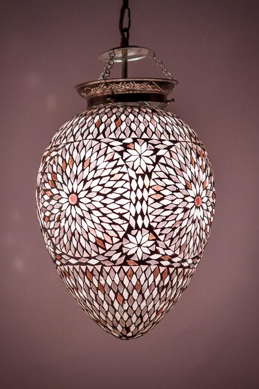 Oosterse mozaïek lampen   Marokkaanse lamp   Oosters interieur   Paars