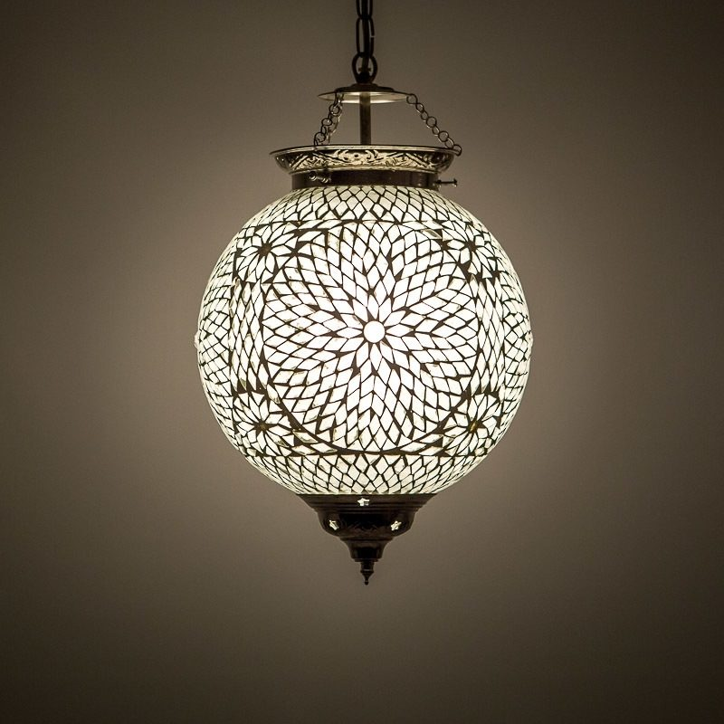 Oosterse lampen transparant Marokkaanse hanglamp