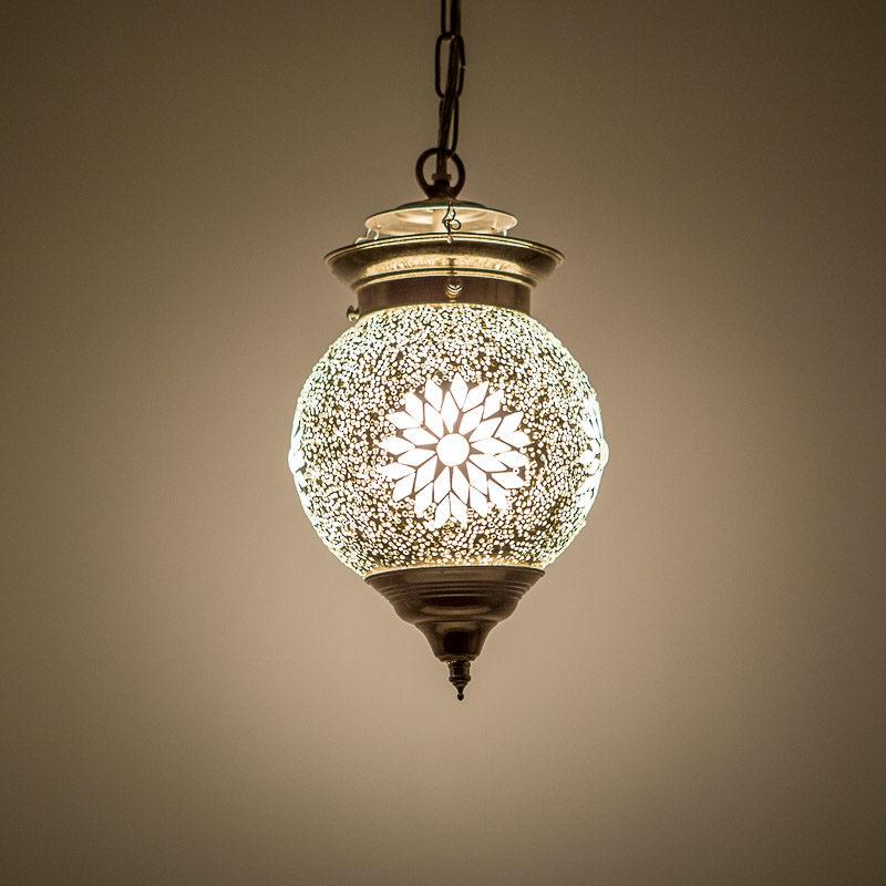 Oosterse lampen voor een Arabische sfeer Marokkaanse lamp mozaïek transparant