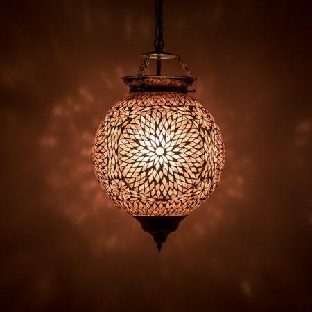 Oosterse mozaïek lamp | Marokkaanse hanglamp | Arabische verlichting