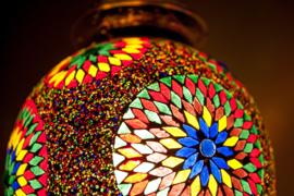 Oosterse lampen mozaïek Marokkaanse hanglamp Oosters interieur
