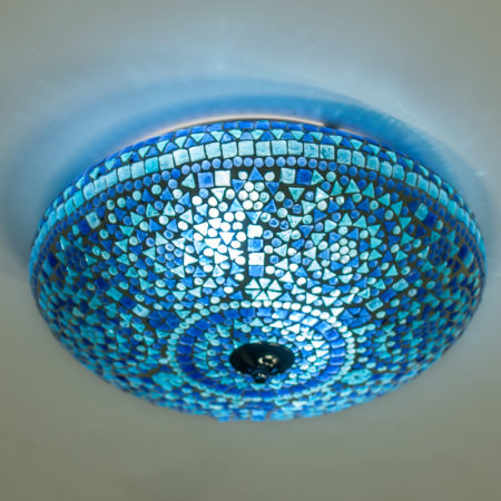 Oosterse plafonnière | Mozaïek lamp | Oosters interieur