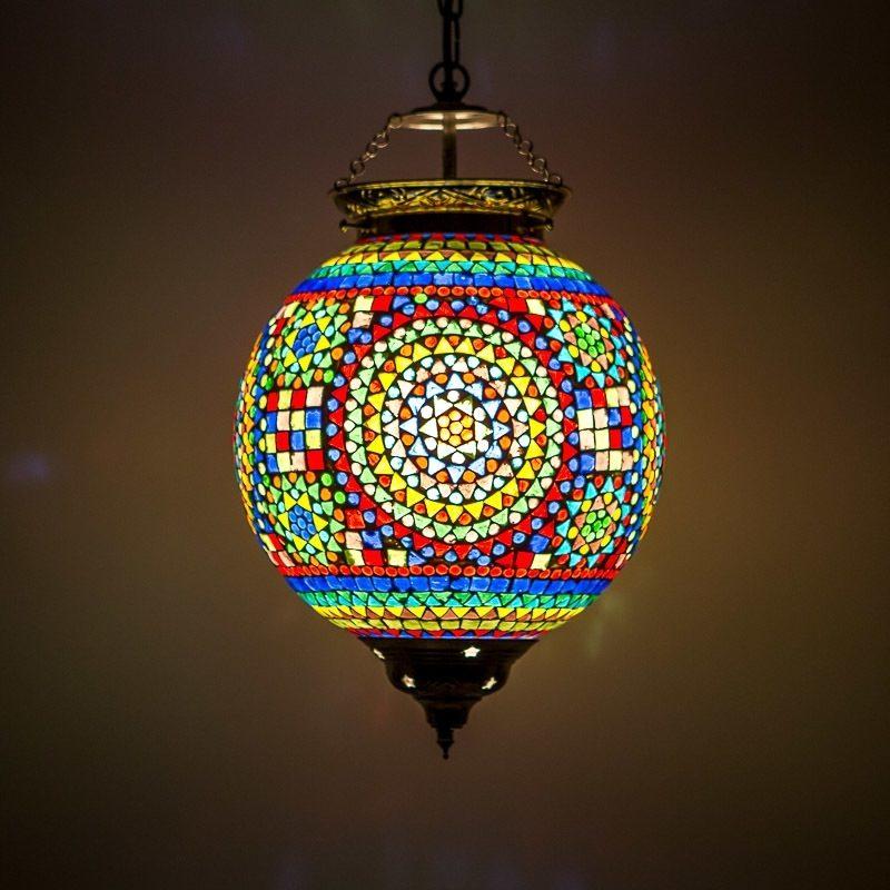 Hanglamp mozaïek traditioneel Oosterse lamp
