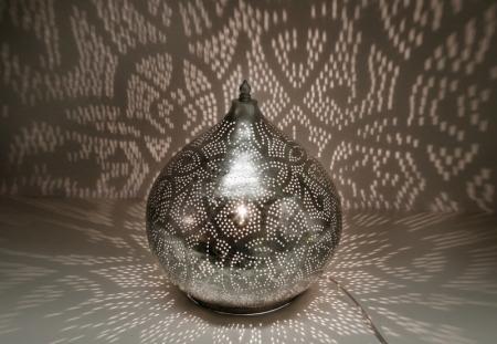 Marokkaanse lamp prachtig in een Oosters interieur