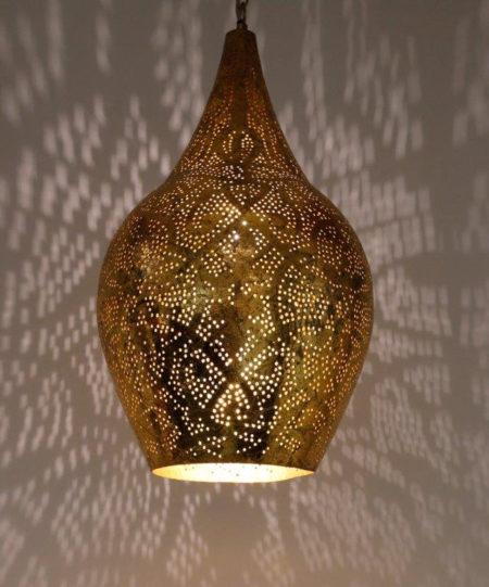 Oosterse filigrain lampen Vintage Goud Oosterse lamp