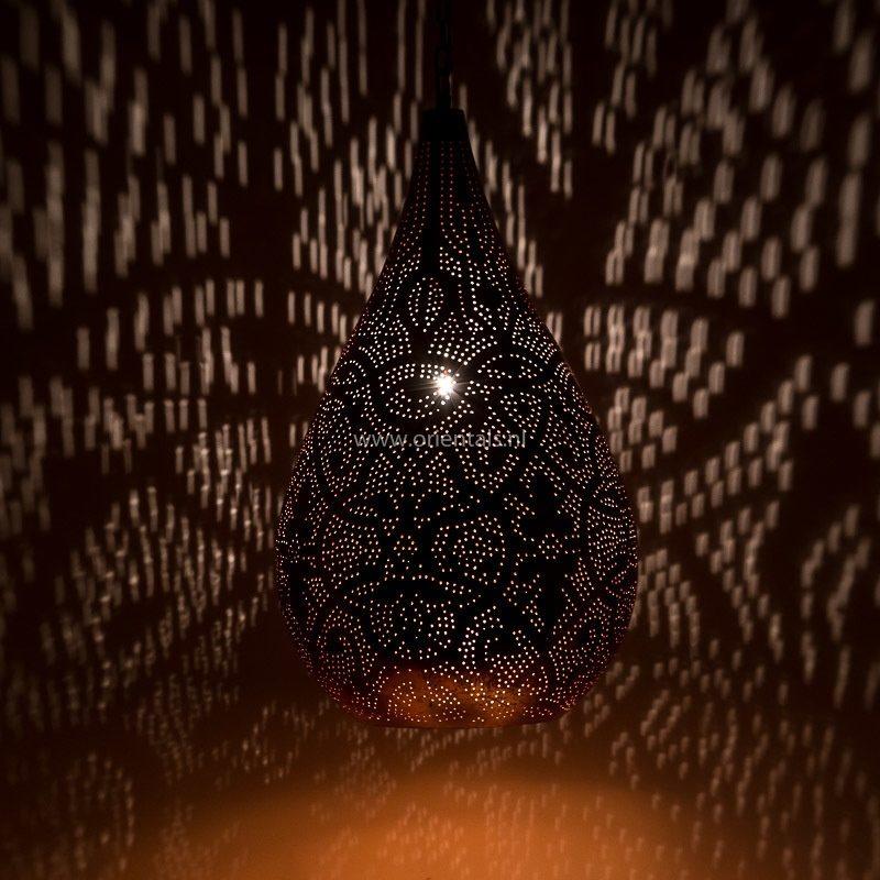 Oosterse lampen | Filigrain | Druppel | Oosters interieur