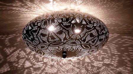 Oosterse plafonniere | Filigrain | Marokkaanse lampen