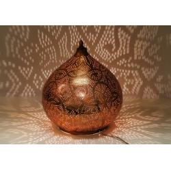 Oosterse tafellamp filigrain Arabische lamp oni design Metaal