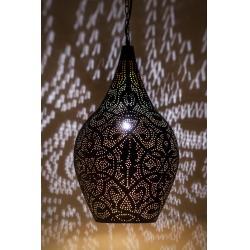 Oosterse filigrain lamp vintage zwart goud Arabische hanglampen Oosters interieur