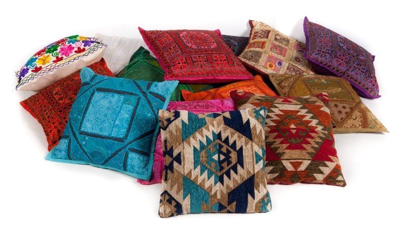 Oosterse kussens | Patchwork | Poefen | Marokkaans