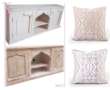 Oosterse meubelen   Marokkaanse kussens   Aanbieding Kalini