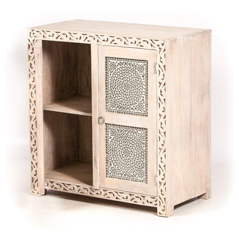 Oosterse meubelen | Marokkaanse kast | Oosters interieur | Klein kastje