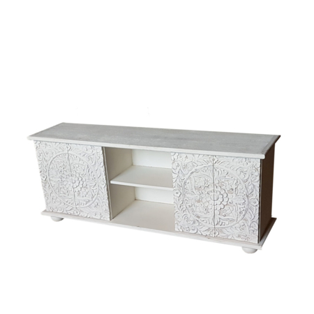 Oosters tv-meubel | Marokkaanse meubelen | Lotus hout | Amsterdam