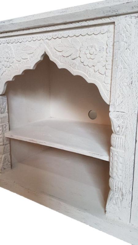 Oosters tv- meubel | Oosterse meubelen | White wash | Arabische meubelen | Marokkaanse meubels