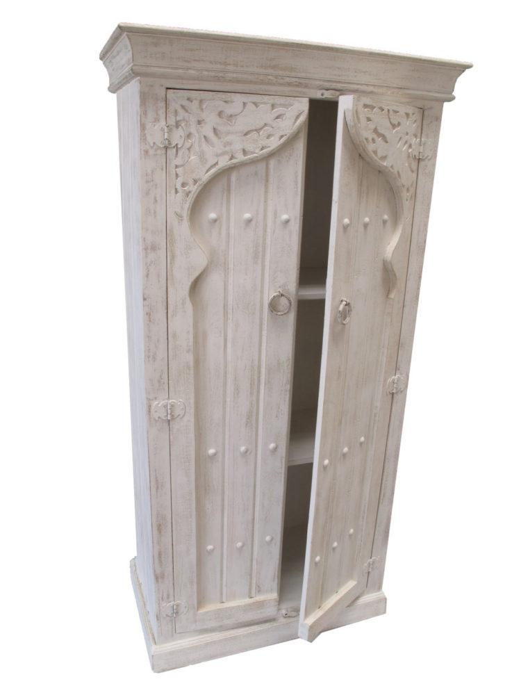 Marokkaanse kast | Oosters meubel | White wash | Houtsnijwerk | Amsterdam