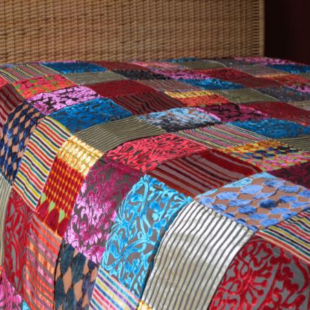 Oosterse beddenspreien | Patchwork sprei | Marokkaanse kleden | Oosterse meubels