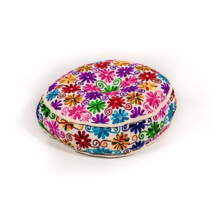 Oosterse poefen | Kashmir poef | Marokkaans kussen | Boho poef