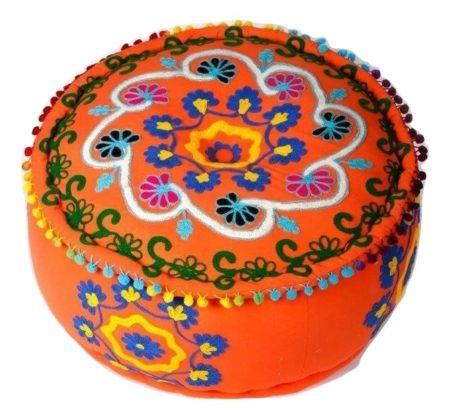 Ottoman poef | Turkse poefen | Arabische meubelen | Marokkaanse kast