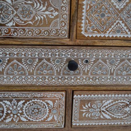Oosters ladekast | Oosterse meubelen | Lotus kasten | Arabische lampen