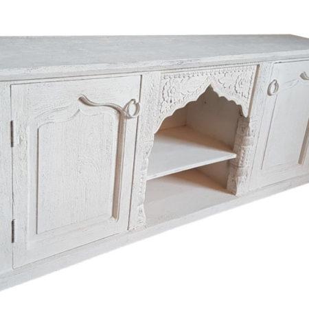 Oosters meubels | tv-meubel | White wash | Arabische meubelen | Marokkaanse meubels