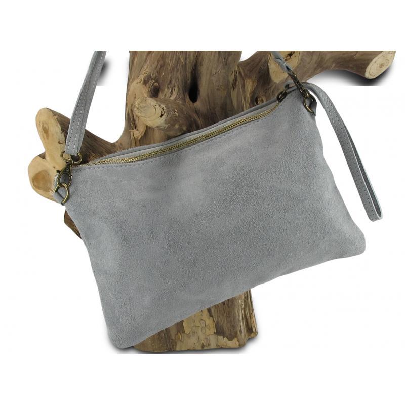 Ibiza clutch tas met pols en verstelbare schouderband nu met hoge korting in de outlet van Kalini