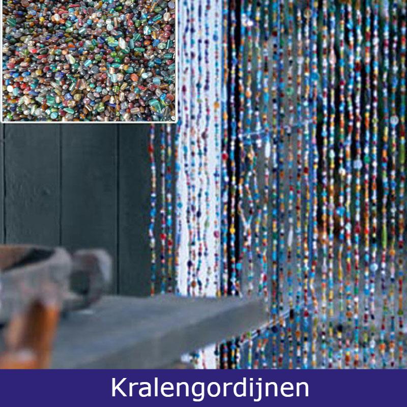 Oosterse kralengordijnen diverse kleuren ook op maat gemaakt