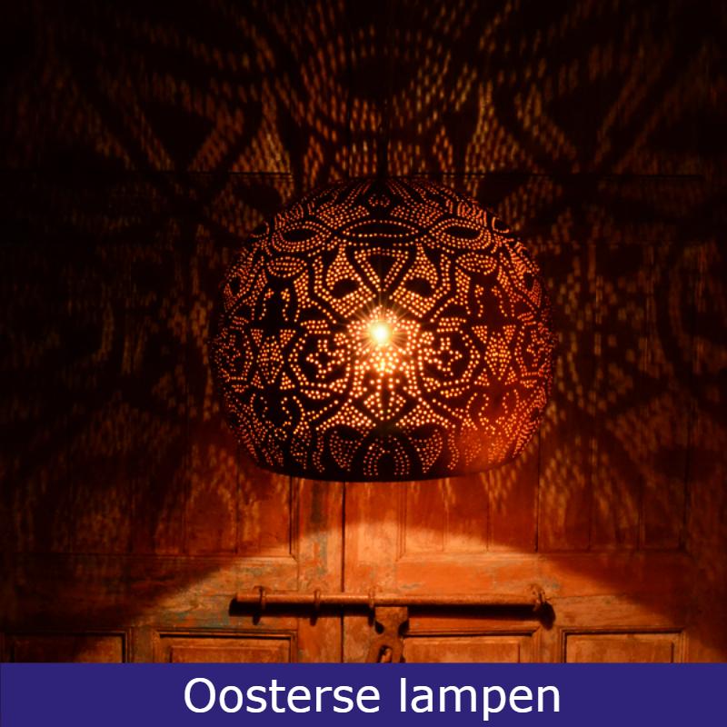 Prachtige Marokkaanse lampen Oosters mozaïek en Arabisch filigrain