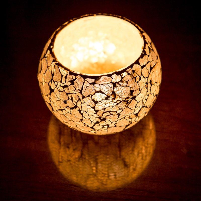 Oosterse waxinehouder | Oosters verlichting | Mozaïek | Marokkaanse verlichting