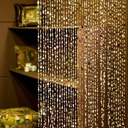 Oosterse glaskralengordijnen | Oosters interieur | Arabische gordijnen | Oosterse meubelen | Amsterdam