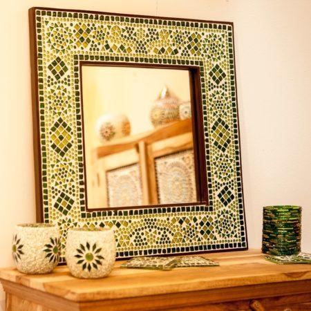 Oosterse mozaïek spiegel | Oosters interieur | Oosterse accessoires | Amsterdam