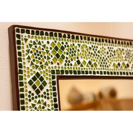 Oosterse spiegel | Mozaïek groen | Arabisch design | Oosters interieur | Badkamer spiegel | Amsterdam